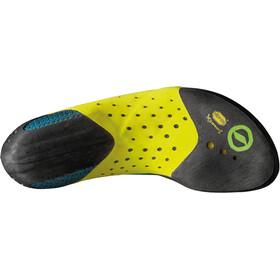 Scarpa Furia Air Climbing Shoes Baltic Blue-Yellow